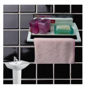 AGM White Seamless Towel Rack/Kitchen Organizing Hanger/Washroom Rack