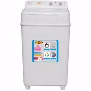 Super Asia Washer SA-240 Excel, Single Tub, Full Plastic Body, Shock & Rust Proof, 99.9% Copper Wire, 220 V, 8Kg Capacity, Energy Saving