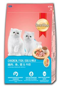 Smart Heart Chicken,Fish Cat Kitten Food 450 GM
