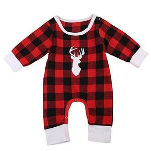 Baby Clothes Infants Jumpsuit Kids Romper Fashion Five Sizes Christmas Supply