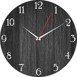 Wooden cutting wall clock laser cutting antique wall clock (105)