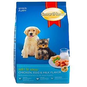 Smart Heart Puppy Dog Food Chicken, Egg & Milk Flavor 3KG