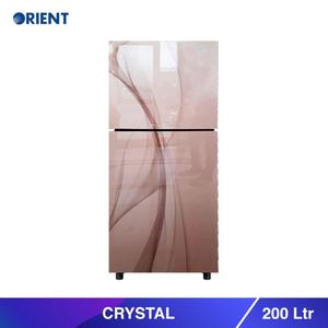 Orient Crystal 200 - Top Mount Refrigerator 200 L- Grey