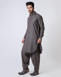 Bonanza Satrangi - D-Brown Pc  Men's Shalwar Suit-92310 - 92310-D-BROWN-L