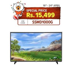"NOBEL 32"" Inch Hd Ready Led Tv - Black"