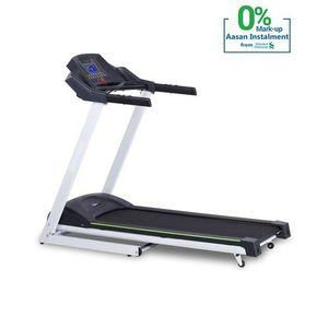 Apollo Motorized Treadmill Manual Incline Smart T1 Grey & Black