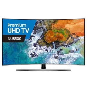Samsung 55 Inch 139cm (IMP) Smart 4K Ultra HD Curved LED LCD TV UA55NU8500