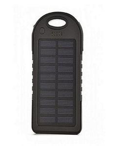 Solar Power Bank 5000 mAh all mobile sported - Black
