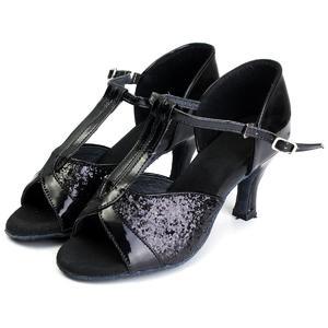 7cm Women Lady's Girl Ballroom Latin Tango Salsa Tango Dance Shoes Heeled Stilettos