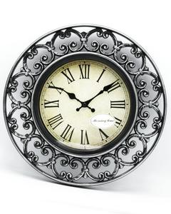 "Antique Style Wall Clock - Multicolor - 11""x 11"""