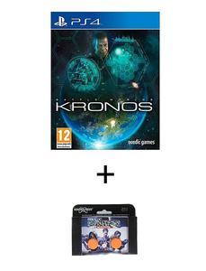 Playstation 4 Dvd Battle Worlds: Kronos Ps4 Game Plus Kontrol Freek