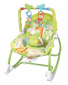 Plastic Rocking chair for toddlers - Green