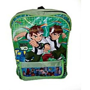 Hafiz Sports parachute green medium  Ben 10 school bag