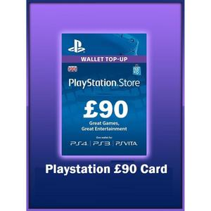 PLAY STATION GIFT CARD 90 UK