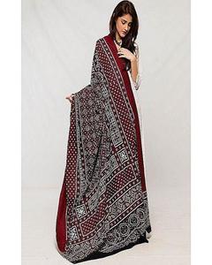 Multicolor Color Sindhi Ajrak FB-0356