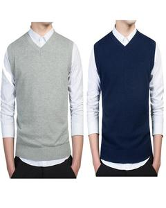 Pack of 2 - Multi color Fleece Sweaters for Men