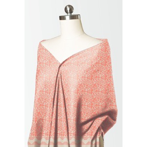 Alkaram studio Silver Collection 2020 Peach Lawn 1 Piece Suit For Women -A132225827