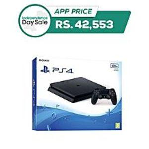 SonyPlayStation 4 Slim - 500GB - Region 2 / PAL - Black