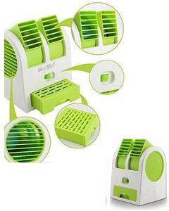 Portable USB Mini Cooler Fan - Green