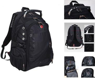 "SWISSGEAR Backpack Schoolbag Daypack 15 17"" Laptop Bag Sports Travel"