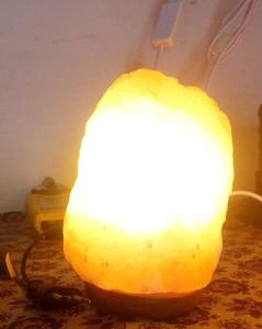 Decoration Piece Natural Salt Table Lamp