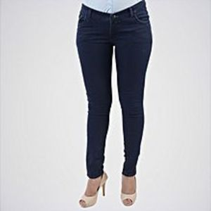 The Ajmery Women's Blue Regular Jeans 003