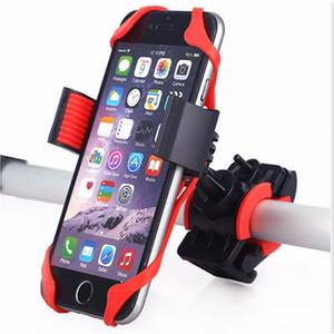 Bicycle Multi-function Mobile Phone Holder Red