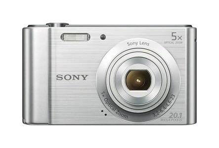 Sony Cyber-shot DSC-W800 Digital Camera - Silver