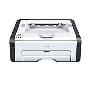 RicohSP210 LaserJet - 22 ppm - Monochrome Printer - White