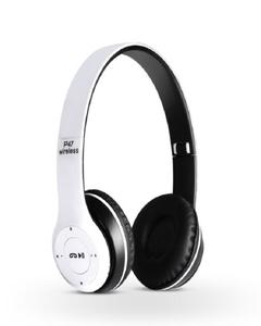Bluetooth Wireless Headphone Sports Bass Stereo With FM