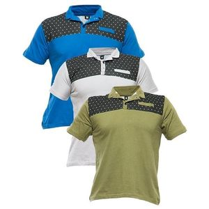 Pack Of 3 - Multicolor Cotton Tshirts for Men