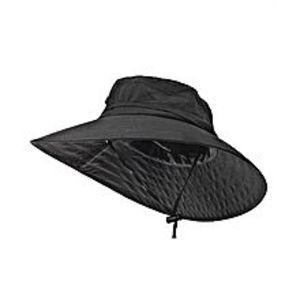 FlairOutdoor Sun Protection Hunting Fishing Safari Bucket Sun Hat with Adjustable Strap