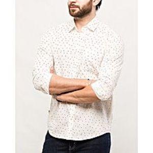 DenizenOrange Cotton NFL Broncos L/S Woven Shirt Special Online Price