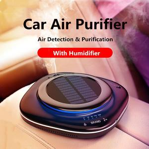Intelligence Car Air Purifier Solar Energy Car Fresh Air Purifier Filter Smog Dust Odor Remove Cleaner