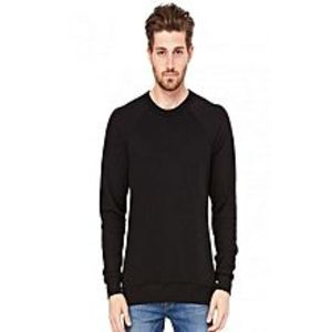 Royal Collection Pakistan Royal Collection Pakistan Black Cotton & Fleece Winter Sweatshirt For Men