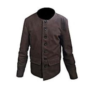 TASHCO Clothing MEN'S GENUINE BROWN REAL LEATHER JACKET