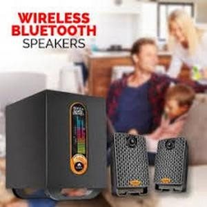 Audionic Max 250 Wireless Music Bluetooth Speakers (1 Year Genuine Brand Warranty) Blue Tunes 2.1 Channel Speaker System