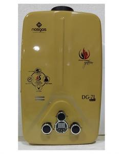 Nasgas Instant Gas Geyser 7- Liter DG-7L  GOLD MODEL Auto water control