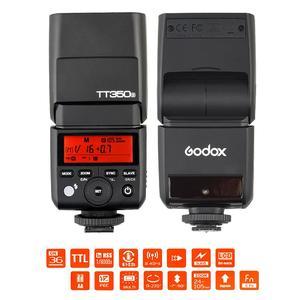 Godox TT350S Mini Portable Speedlite 2.4G Wireless Master & Slave 1/8000S HSS TTL Flash Speedlight for Sony A77II A7RII A7R A58 A99 ILCE6000L RX10 Mirrorless ILDC Camera