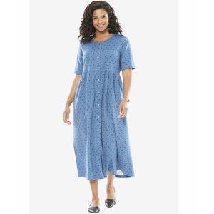 Blue Maxi Dress For Women