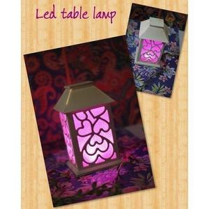 Table Lamp Modern Desk Lamp With Fabric Green Shade Perfect For Home Bedroom Living Room Office