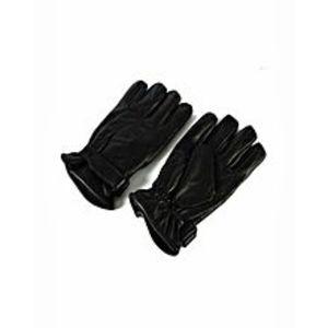 HAREEMMMPair of Leather Gloves - Black