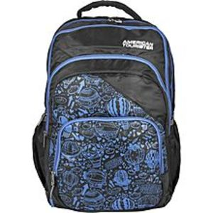 American Tourister Pack of 2 - At Doodle II Backpack + Pencil Case - Black