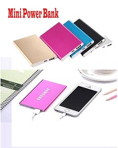 Ultra Slim Power Bank 6000 Mah With Ring - Multicolour