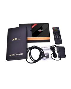 Android H96 Pro Amlogic S912 - Octa Core Android Smart TV Box - Black