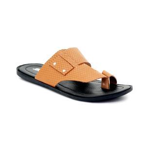 Bata Tan Casual Sandal for Men