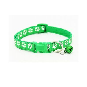 Smartoo Dog Collar With Bell Necklace Buckle - Green