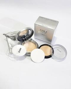 Etude Twin Cake Face Powder Foundation Base With Refill Pack BE.01