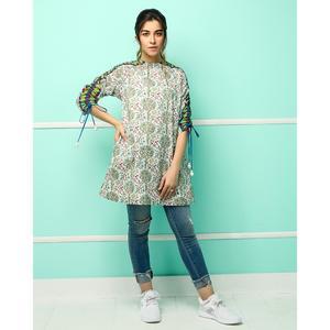 Alkaram studio MAK Festive 2019 Green Cambric 1 Piece unstitched Suit For Women -  A132218218(Un-stitched)