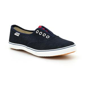 Tomy Takkies Navy Blue Canvas Lifestyle Shoes For Women 5899093